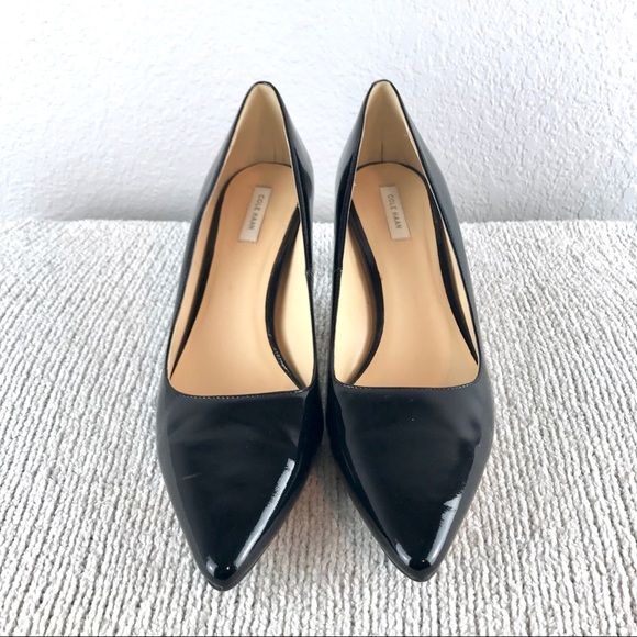 0a39fd0aba1 Cole Haan Grand.os Patent Leather Heels